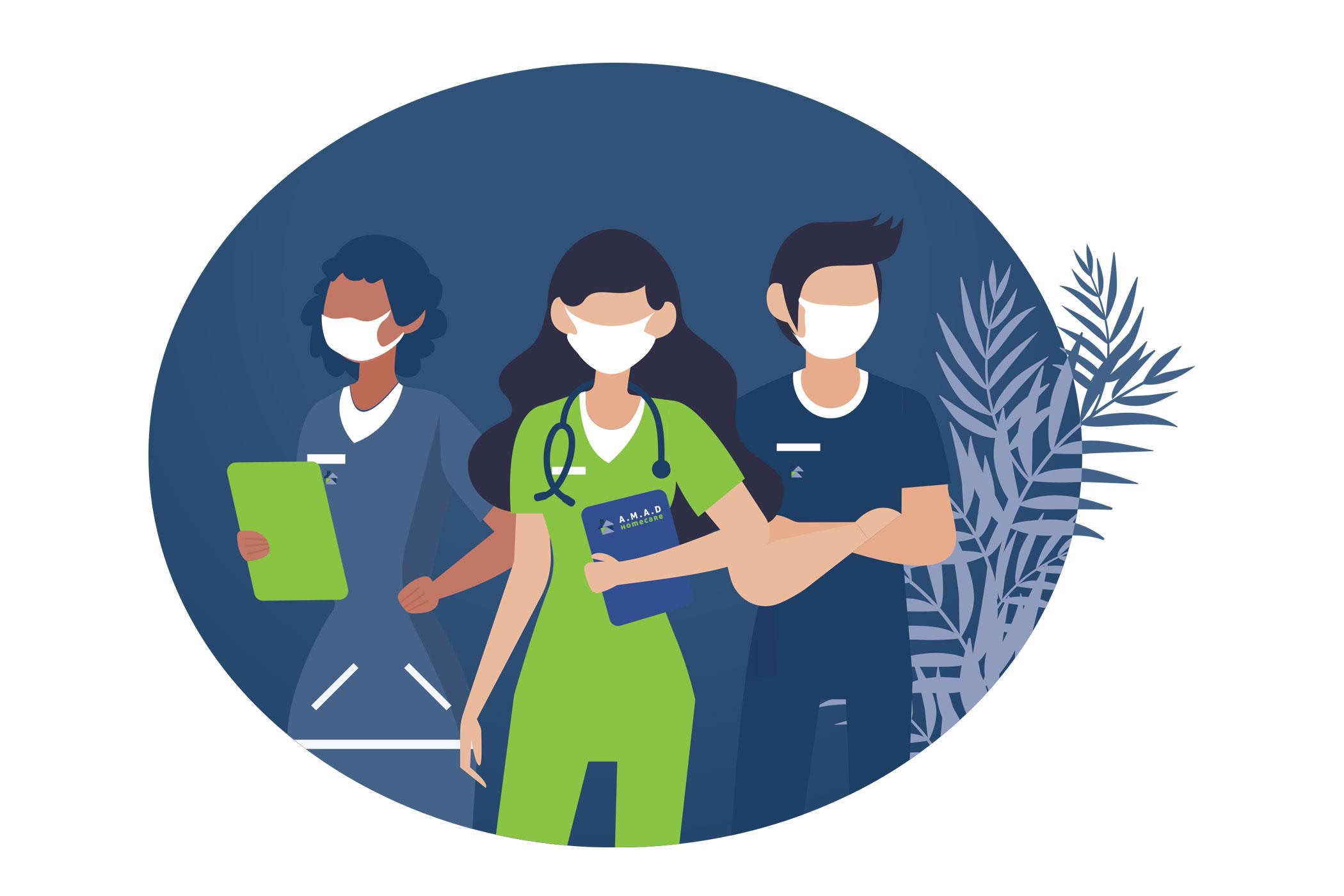 Infirmière à domicile canton de Vaud